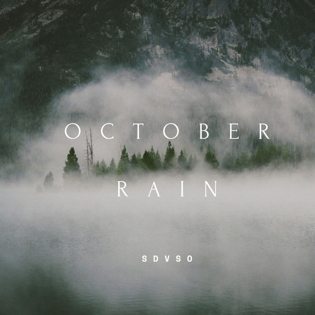 Album cover for October Rain by SDVSO