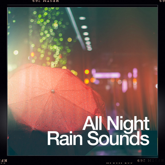 All Night Rain Sounds Albumcover