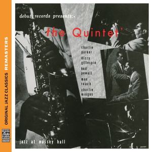 Charlie Parker, Parker, Dizzy Gillespie, Bud Powell, Max Roach, Charles Mingus Salt Peanuts cover