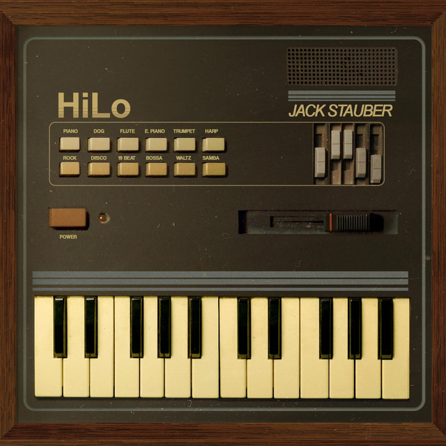 Album cover for HiLo by Jack Stauber