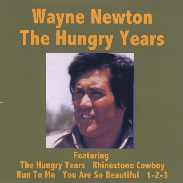 Wayne Newton The Hungry Years - Wayne Newton album cover
