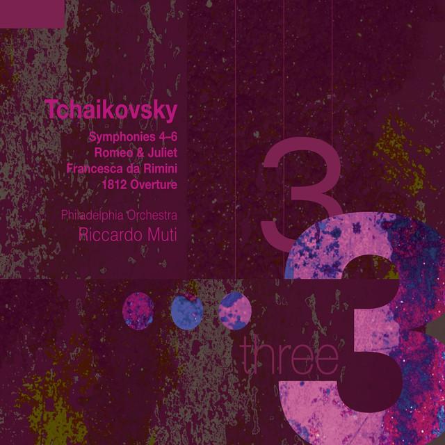 Tchaikovsky: Symphonies 4-6 Albumcover