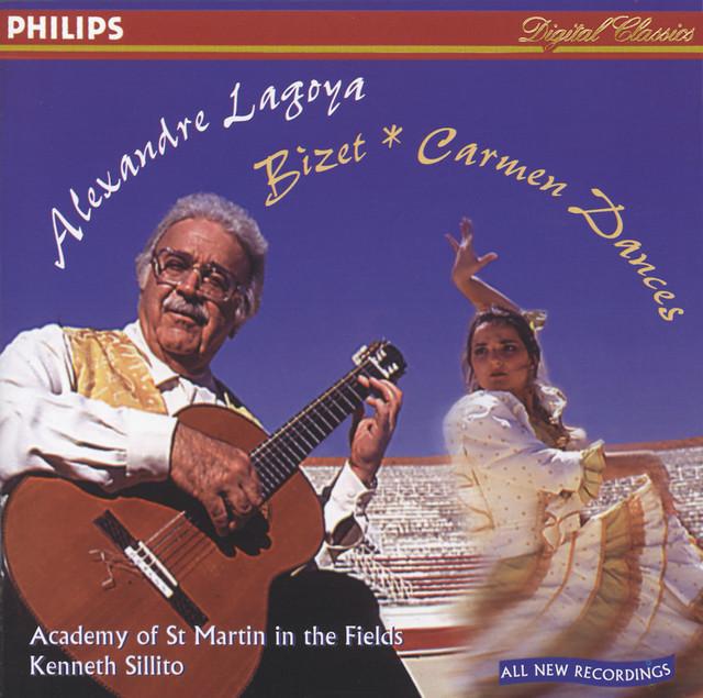 "Bizet / Albéniz / Lagoya / Tárrega: Carmen Dances / Asturias / Variations sur ""Jeux interdits"""