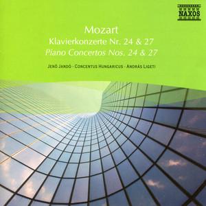 Mozart: Piano Concertos Nos. 24 and 27 Albumcover