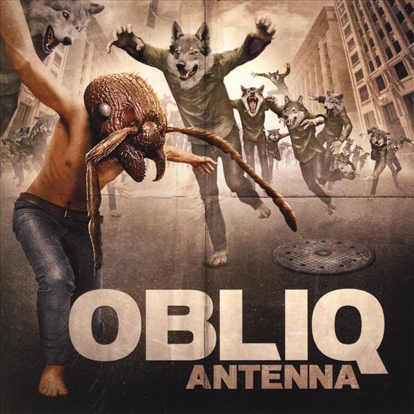 Skivomslag för Obliq: Antenna