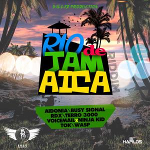 Rio De Jamaica Riddim Albumcover