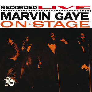 Recorded Live: Marvin Gaye On Stage Albumcover