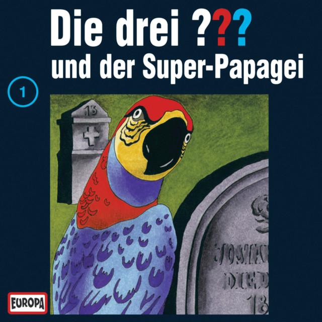 001 - und der Super-Papagei Cover