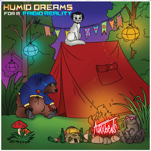 Album cover for Humid Dreams For A Frigid Reality by Ajaxbeats
