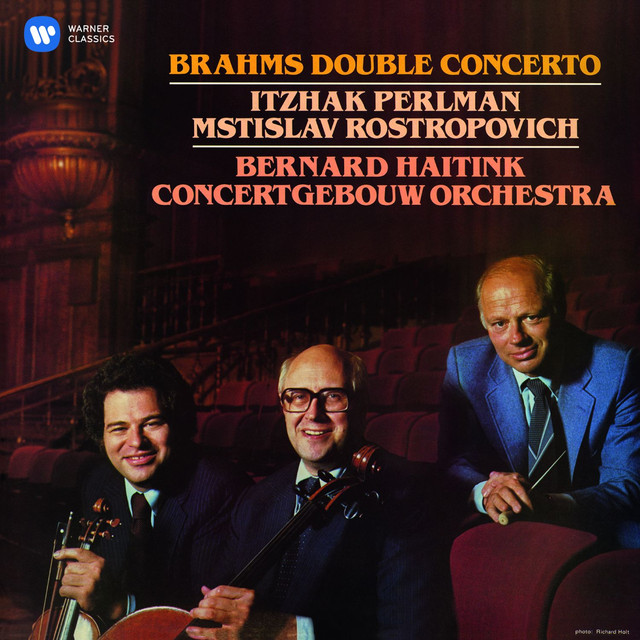 Brahms: Double Concerto Albumcover