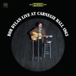 Bob Dylan Live At Carnegie Hall 1963 Albumcover