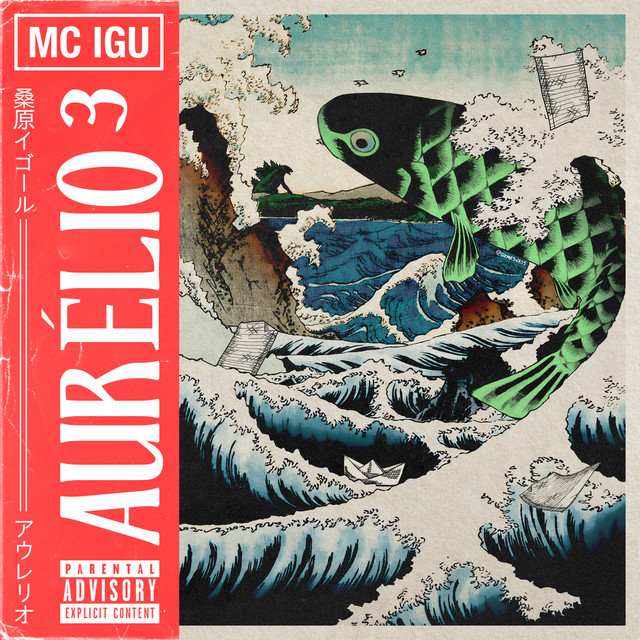 Album cover for Aurélio³ by MC Igu