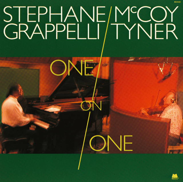 McCoy Tyner, Stéphane Grappelli One on One album cover