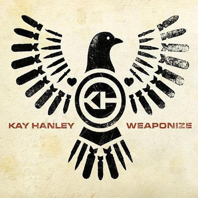 Album cover for Weaponize by Kay Hanley