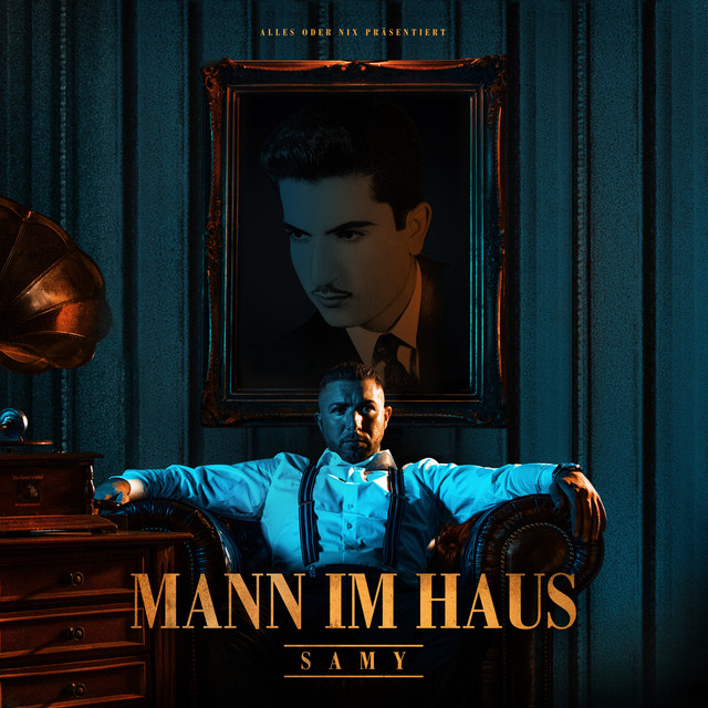 Album cover for Mann im Haus by SAMY