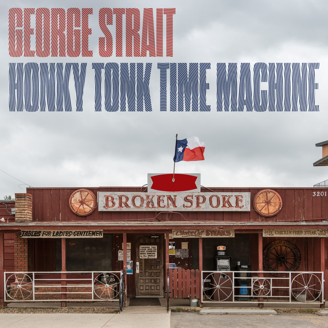 Album cover for Honky Tonk Time Machine by George Strait