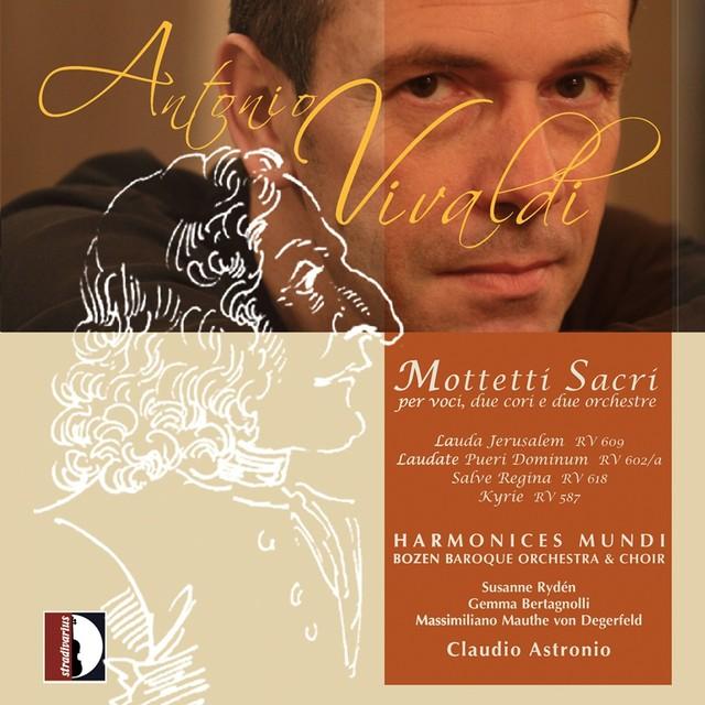 Vivaldi: Mottetti sacri Albumcover