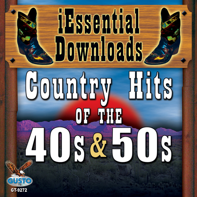 Various Artists Country Hits Of The 40's & 50's album cover