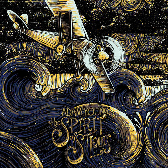 Album cover for The Spirit of St. Louis by Adam Young