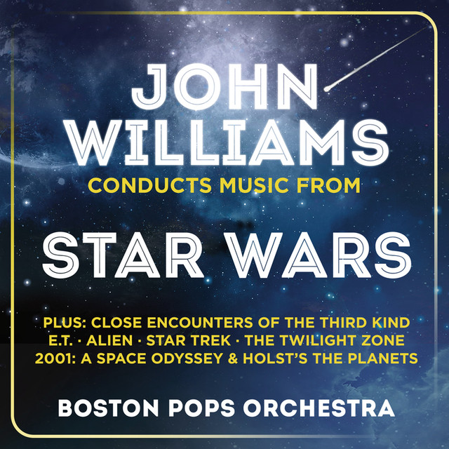 John Williams Conducts Music From Star Wars Albumcover
