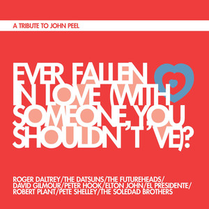 Roger Daltrey, The Datsuns, The Futureheads, David Gilmour, Peter Hook, Elton John, Soledad Brothers, Robert Plant, El Presidente, Pete Shelley Ever Fallen In Love (With Someone You Shouldn't've)? cover
