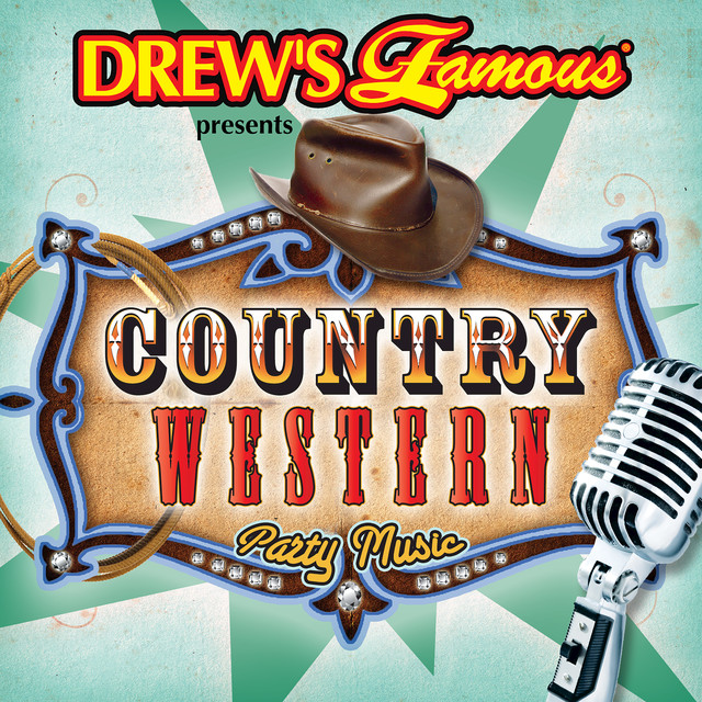 The Hit Crew Drew's Famous Country Western Party Music album cover