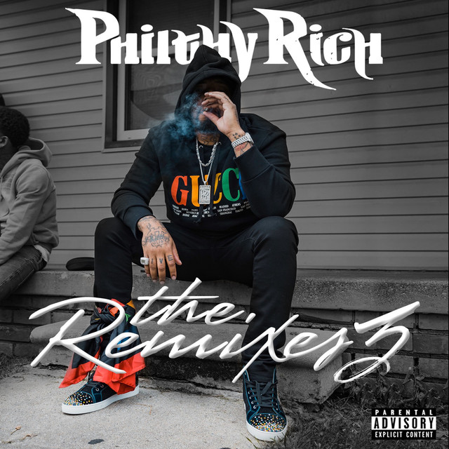 Album cover for The Remixes 3 by Philthy Rich