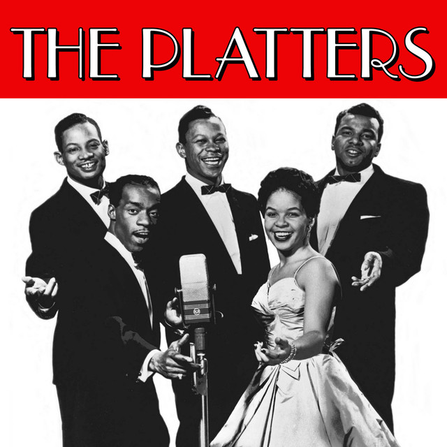 The Platters Gold album cover