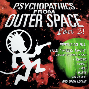 Psychopathics from Outer Space Part 2 Albumcover