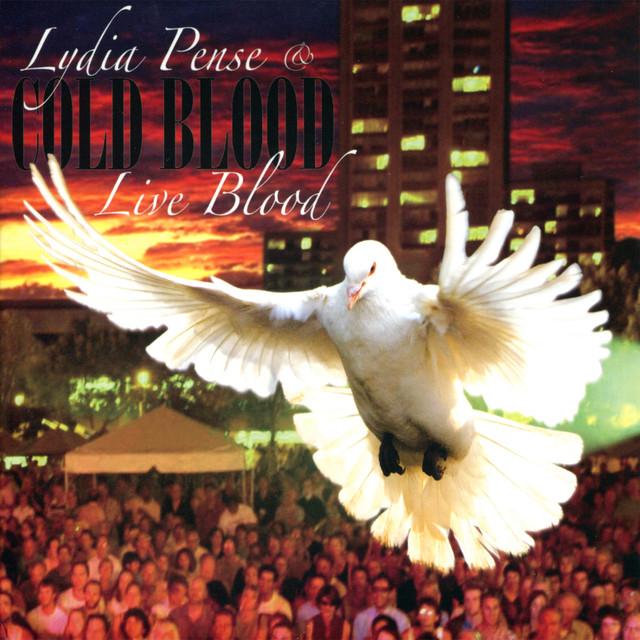 Cold Blood, Lydia Pense Live Blood album cover