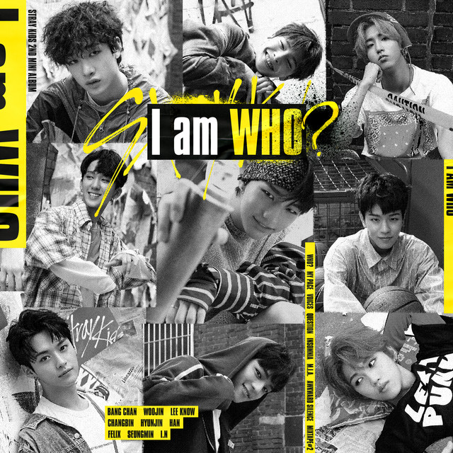 Album cover for I am WHO by Stray Kids