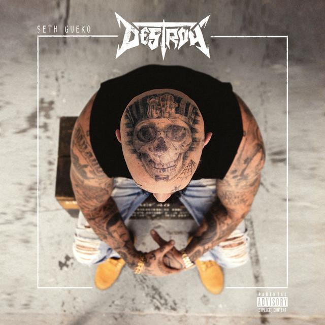 Album cover for Destroy by Seth Gueko