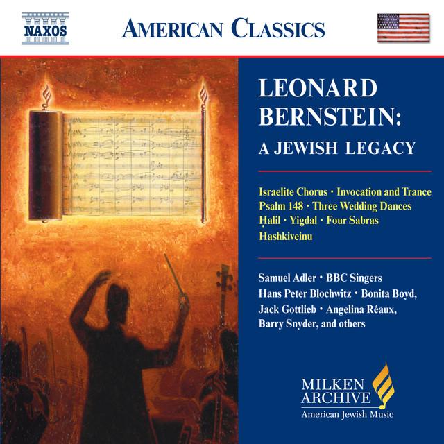 Bernstein: Jewish Legacy (A) Albumcover