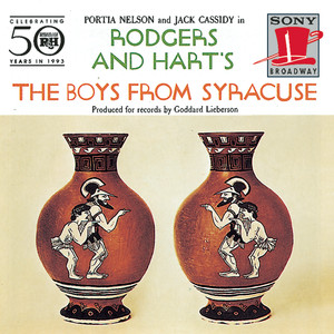 The Boys from Syracuse (Studio Cast Recording (1953)