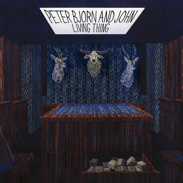 Peter Bjorn and John Living Thing album cover