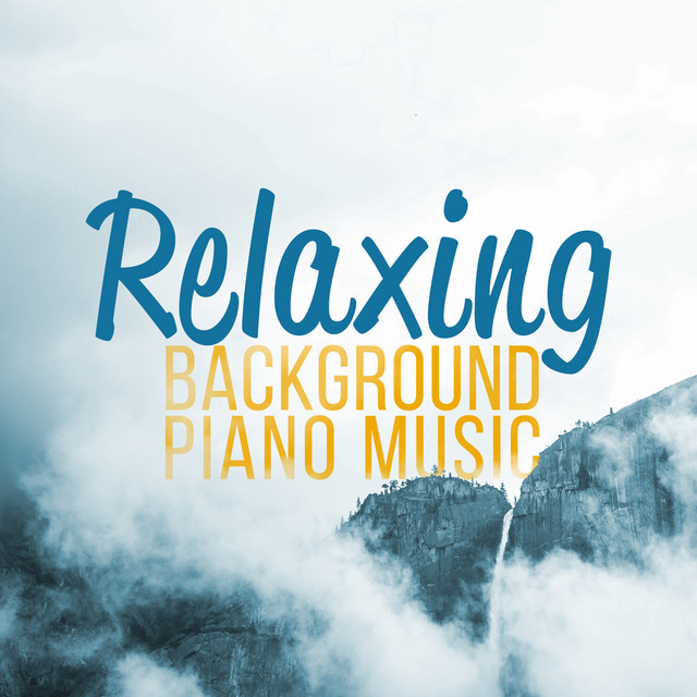 Relaxing Background Piano Music Albumcover