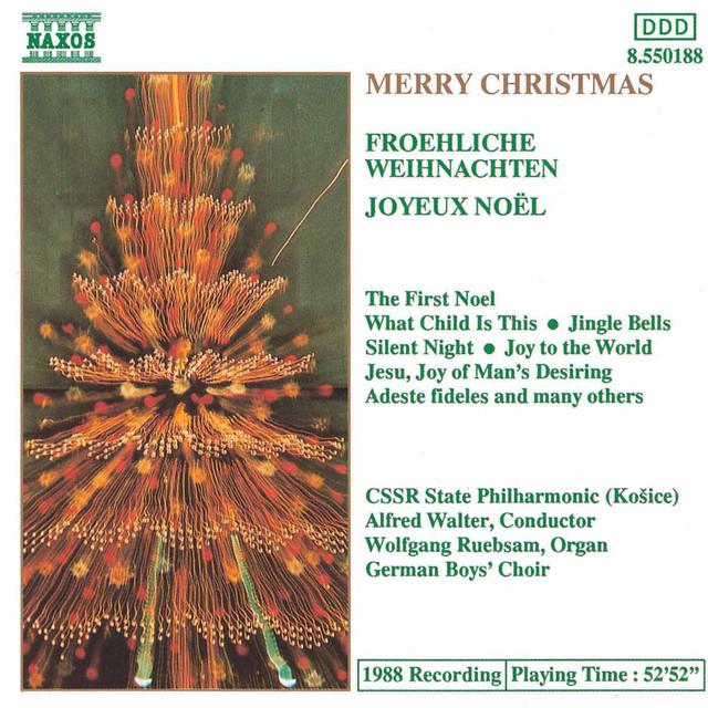 Adeste Fideles Joyeux Noel.Merry Christmas Frohliche Weihnachten Joyeux Noel By