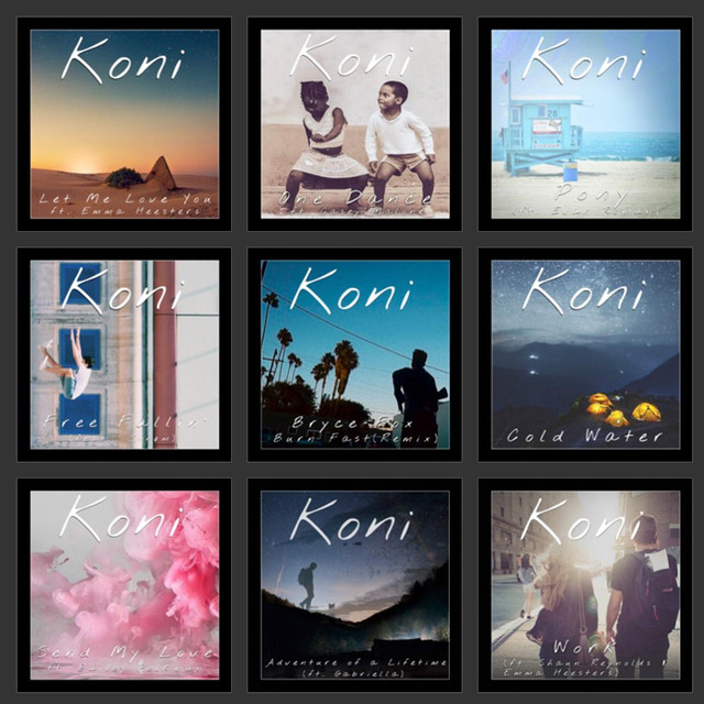 Album cover for Koni - Instrumentals by Koni