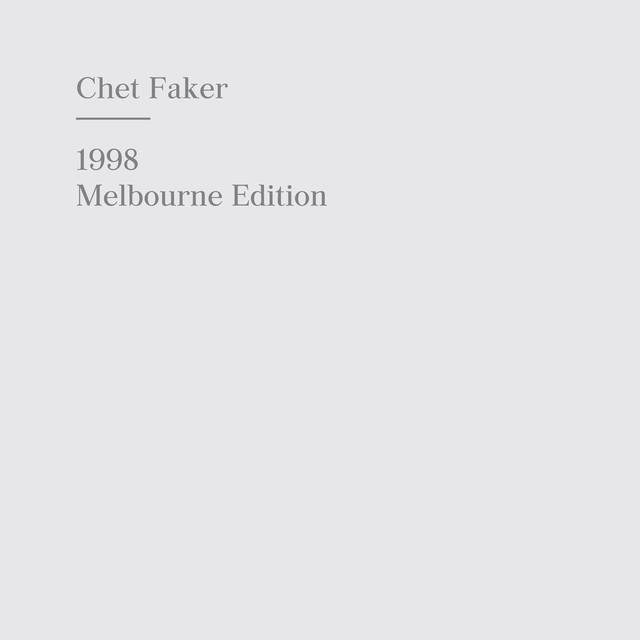 1998 Melbourne Edition Albumcover