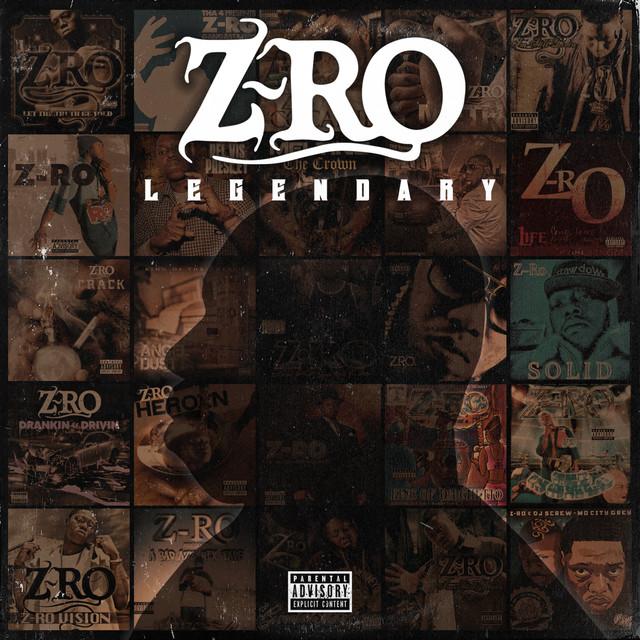 Album cover for Legendary by Z-Ro