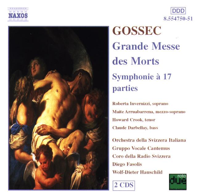 Gossec: Grande Messe Des Morts / Symphonie A 17 Parties Albumcover