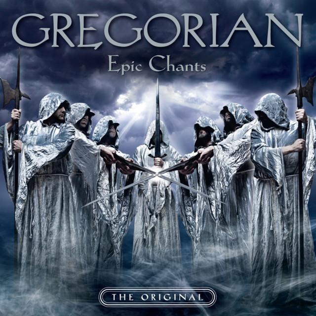 Gregorian Epic Chants album cover