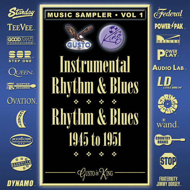Various Artists Instrumental Rhythm & Blues - Rhythm & Blues 1945-1951 - Music Sampler Vol. 1 album cover