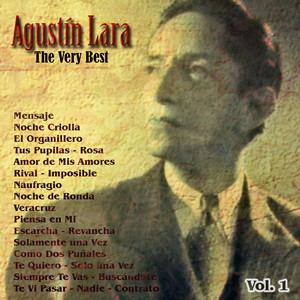 The Very Best: Agustín Lara Vol. 1 album