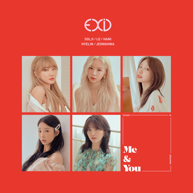 Album cover for WE by EXID