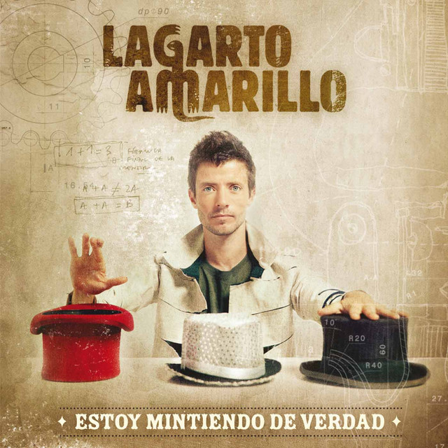 Lagarto Amarillo Estoy mintiendo de verdad album cover