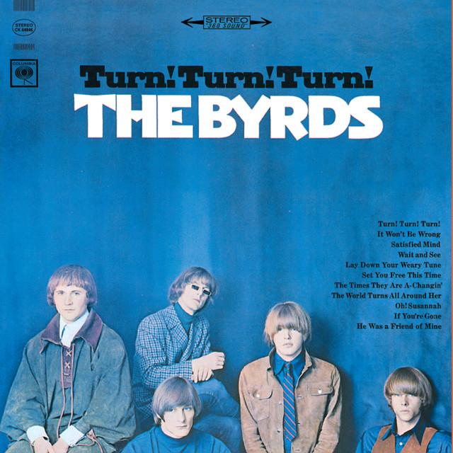 The Byrds Turn! Turn! Turn! album cover
