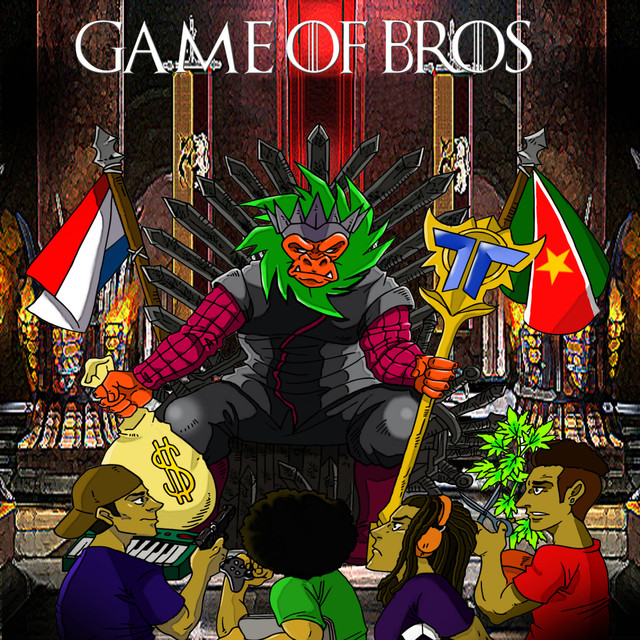 Album cover for Game of Bros by Afro Bros