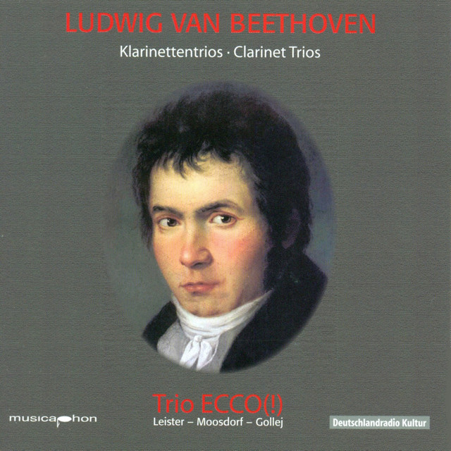 Beethoven: Clarinet Trios Albumcover