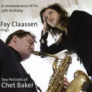 Two portraits of Chet baker album